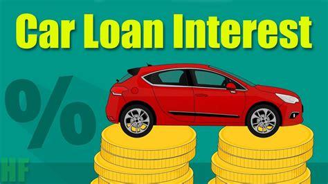 car loan interest explained  easy  youtube