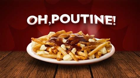 cuisine cagnarde canada 39 s national food poutine