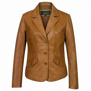 Men's Brown Leather Bomber Jacket | Hidepark Leather