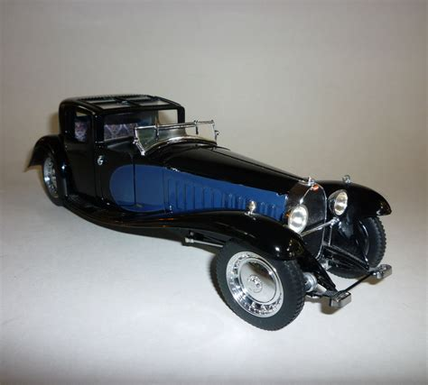 Replica of coupe napoleon, made for the french film rebus with an american v8 engine, now residing in the sinsheim auto & technik museum. 1930 Bugatti Royale Coupe Napoleon Franklin Mint Precision