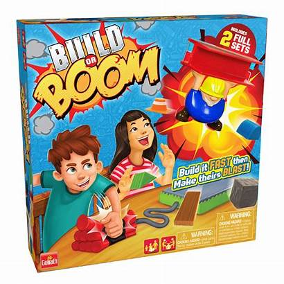 Boom Build Board Games Goliath Toy Action