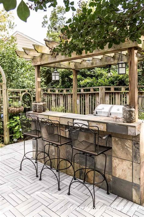 Patio Bar by Small Patio Decorating Ideas That Make Your Deck Into An