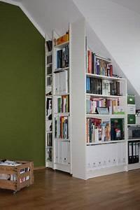 Billy Regal Von Ikea : billy regal zugeschnitten dachgeschoss ~ Frokenaadalensverden.com Haus und Dekorationen