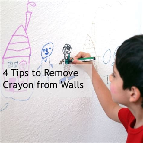 how to get crayon the wall 4 hacks for removing crayon from walls