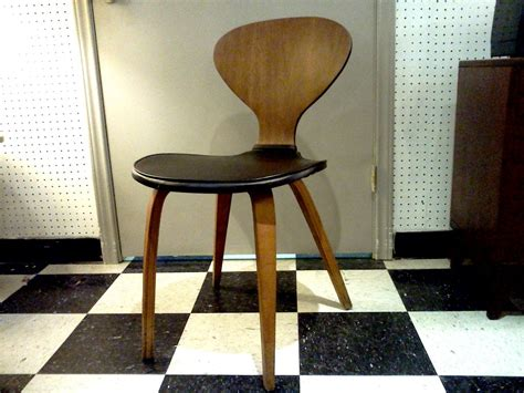chaise cherner norman cherner chair for plycraft cool stuff houston