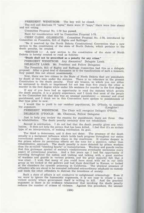 section  constitutional convention north dakota studies