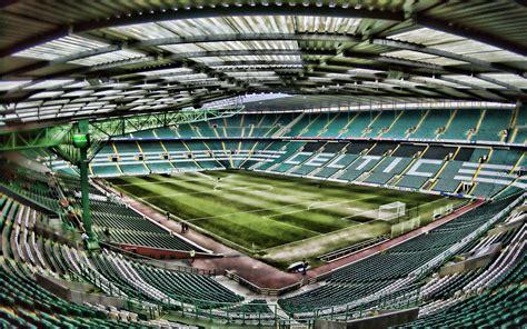 Download wallpapers 4k, Celtic Park, empty stadium, HDR ...