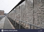 A section of the Berlin Wall beside the Topography of ...