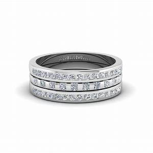 Wedding rings trio wedding ring sets walmart wedding for Cheap bridal wedding ring sets