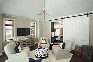 Gathering Room Transitional Living Room Studio M