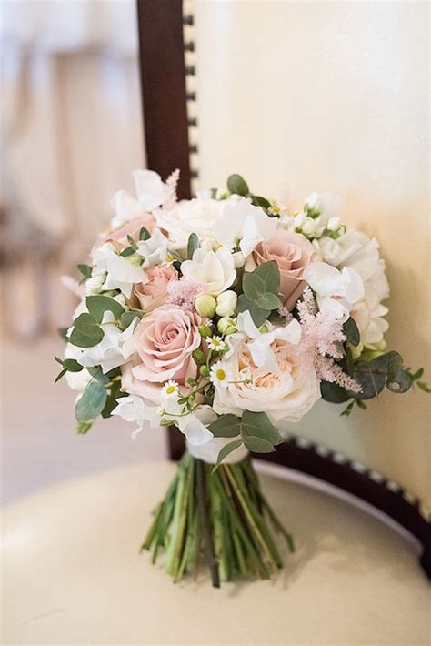 bouquet flowers bride bridal pink rose beautiful country
