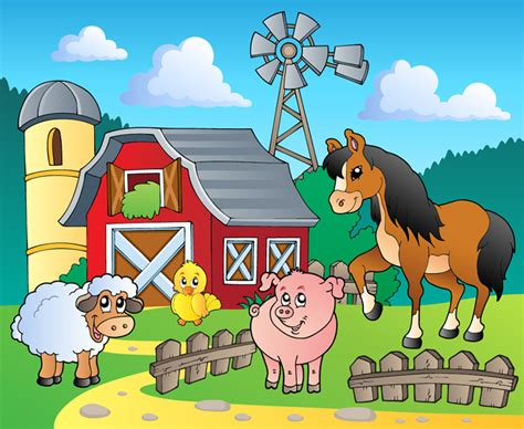 Farmyard Animal Wallpaper - farmyard animal wall mural photo wallpaper