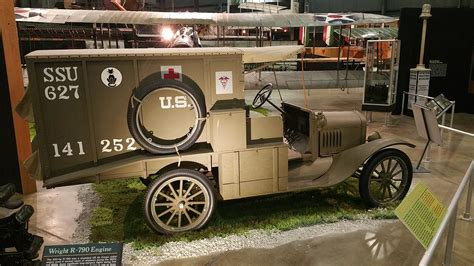 Model T Ambulance by File Ford Model T Ambulance On Display In The Early Years