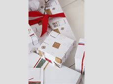 Holiday wrapping paper printables The House That Lars Built