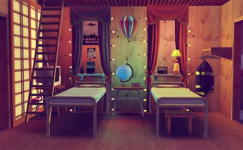 Sims 3 Home Decor Photography : Cool Room Design By Thenewshoes In The Sims 3