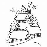 Coloring Winter Pages Landscape Colouring Season Nature Christmas Printable Holidays Sheets Winterlandscape Realistic Drawing Kb Drawings Viatico sketch template