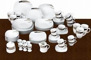 Service Porzellan Weiß : van well kombiservice porzellan 62 teile nevada online kaufen otto ~ Markanthonyermac.com Haus und Dekorationen