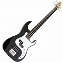 Greg Bennett Corsair CR-13 Bass Guitar, Black at Gear4music