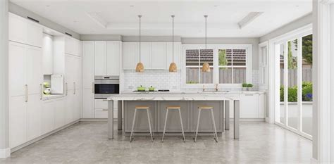 shaker style kitchen designs sydney  kitchens
