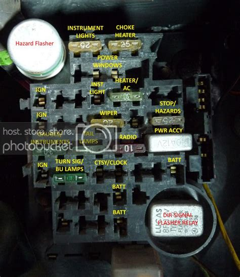 Camaro Fuse Box by Solved Need 1981 Camaro Fuse Box Diagram Or Picture Of