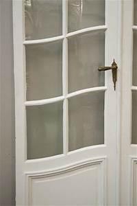 Moderniser Une Porte Intérieure Vitrée : une double porte d 39 int rieur vitr e portes ~ Melissatoandfro.com Idées de Décoration