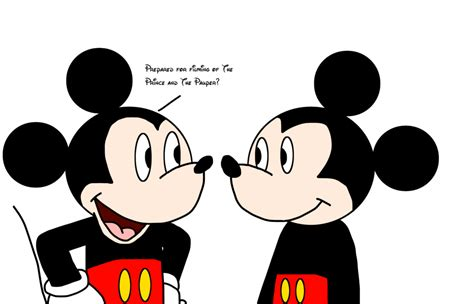 Mickey with his Doppelganger by MarcosPower1996 on DeviantArt