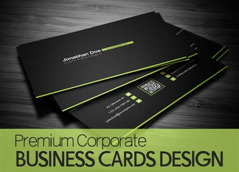 Premium Corporate Business Cards Business Card Box Vector Swirl Floating Mockup Free Garments Holder Cell Phone Of In Hand Design Minimal