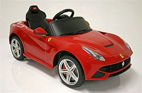 Children Ride On Electric Car Ferrari F12 With License