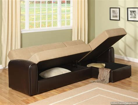Sectional Sofa Sleeper With Storage by Sectional Sleeper Sofa With Storage Smalltowndjs