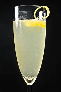 Champagner Sekt Cocktail French 75 Gin Zitrone Cocktails