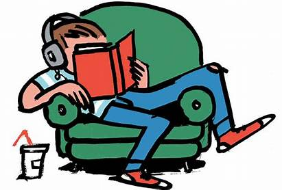 Adult Young Reading Books Clipart Library Novels
