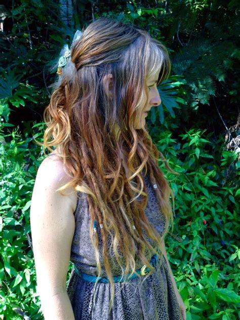 loose curls  dreads  love  combination  dreaded hair hippie hair hair