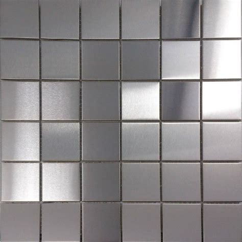 Kitchen Metal Wall Uk by Brush Silver Metallic Mosaic Wall Tiles Backsplash Smmt030