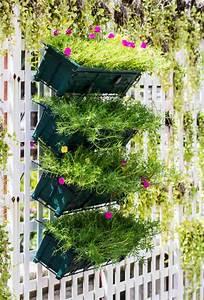 les jardins suspendus s39invitent dans votre maison With idee deco exterieur jardin