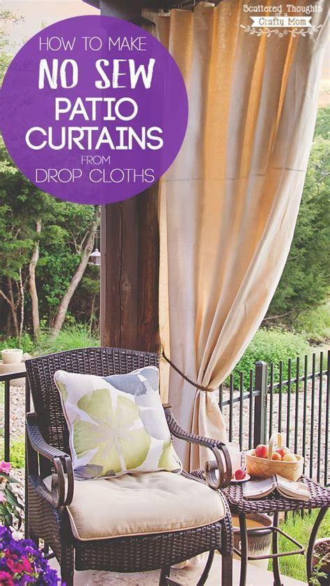 25 best ideas about patio curtains on