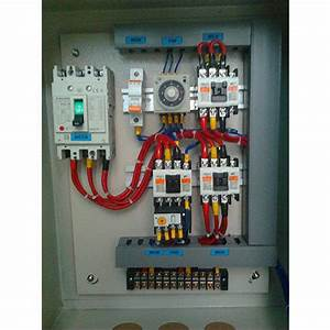 Three Phase Star Delta Panel  Rs 40000   Unit  Logic