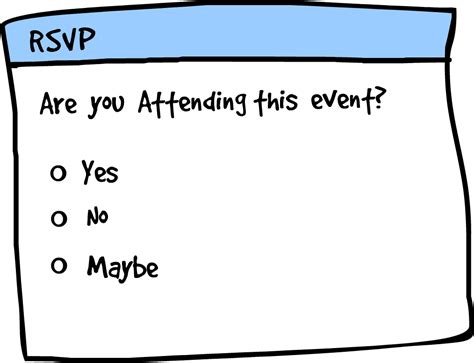 rsvp stands for more on june 2012