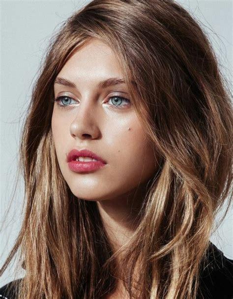 weiblich braune haare braune augen 1001 ideen f 252 r silvester make up trendy feiern