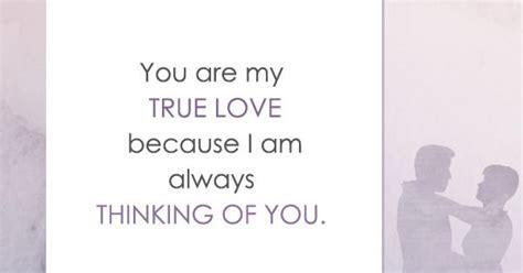 true love     thinking