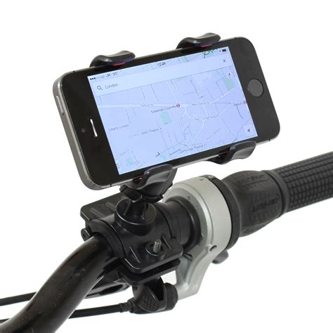 iphone holder for bike pedalpro handlebar mount mobile phone holder bike cycle 15291