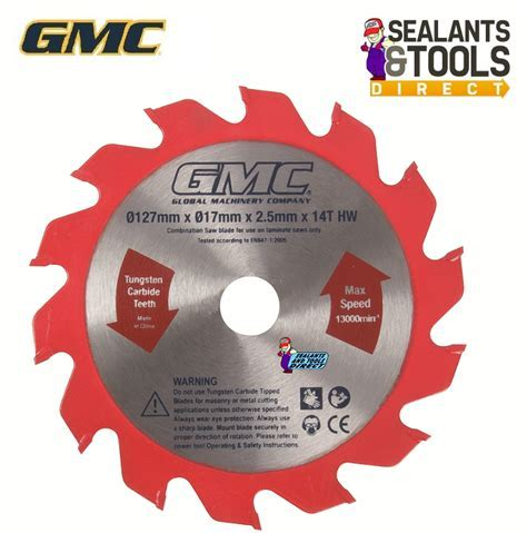 GMC Laminate Flooring Saw 127mm Replacement Blade