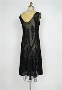 vintage 1920s flapper art deco lace dress [Venetian ...
