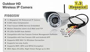 Foscam Fi9805w 960p External Wireless Ip Camera