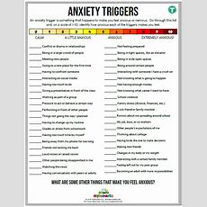 Anxiety Worksheets For Kids And Teens