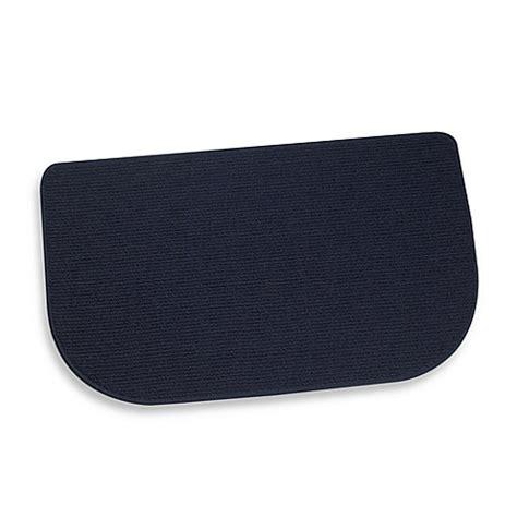 kitchen slice rugs mats buy berber 30 inch x 18 inch kitchen slice rug in denim from bed bath beyond