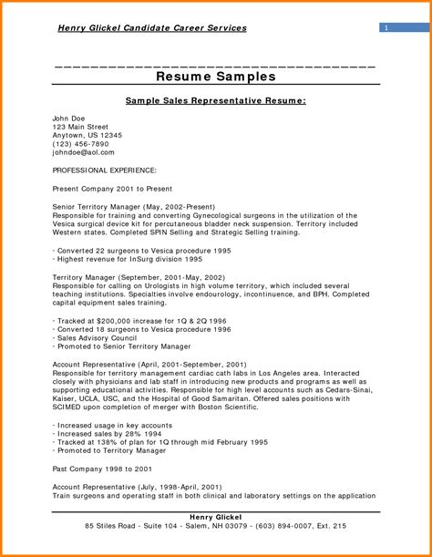 objective in resume sles 28 images sales manager