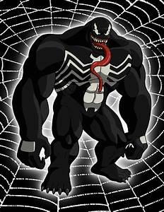 Venom (Ultimate Spider-Man) by FantasyFlixArt on DeviantArt