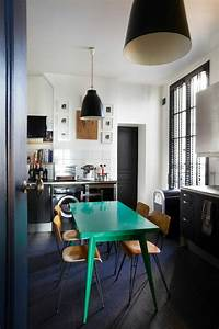 beaucoup d39idees comment accorder les couleurs d39interieur With idee deco cuisine avec salle À manger complà te en bois