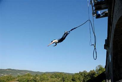Jumping Bungee Bungeejumpen Italia Rush India Spaventoso