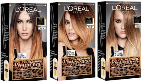 L'oreal Preference Wild Ombre Kit #3